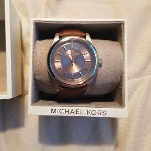 Michael Kors Men's Leather Watch